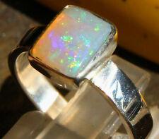Crystal Opal 1.6 Karat 925er Silberring Größe 17,8 mm