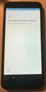 READ 1ST Tracfone Blu View 1 - 16GB - Black (Tracfone) Smartphone Good Used