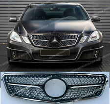 Mercedes E w212 s212 Sport Grille,AMG DIAMOND,2009-13,saloon estate,Black Series