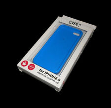 NEW BLUE WOW TECHNOLOGIES SOFT PLASTIC IPHONE 5 5S CASE SUPER FAST SHIPPING