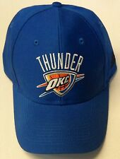 a095d9b1ff385 NBA Oklahoma City Thunder Adidas Structured Adjustable Velcroback Cap Hat  OSFA