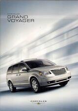 Chrysler Grand Voyager 2008 German Market Sales Brochure LX Touring Limited
