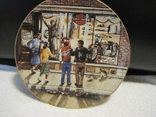 "1989 Harley Davidson ""Twenty-Nine Days ""til Christmas"" Plate Limited Edition"