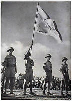 1950 JEWISH BRIGADE Israel PHOTO ALBUM Volunteers PALESTINE Hebrew BOOK Judaica