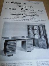 catalogue sur le mobilier administratif  ( ref 3 )