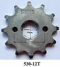 Front Sprocket 530 12T 12 tooth 150cc 200cc 250cc 300cc Engine fit 17mm shaft