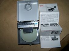 NICE! VINTAGE POLAROID CAMERA PORTRAIT KIT #581 WITH CASE FOR COLOR PACK CAMERA