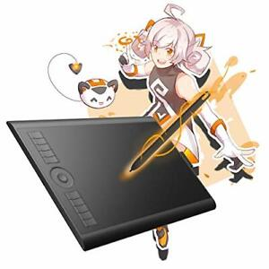 GAOMON M10K 2018Version-Tablette Graphique 10 x 6.25 Pouces avec Stylet Passi...