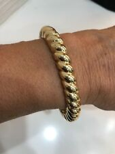 Gold Twist Bangle Bracelet - Retail $60.00