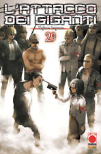 L'Attacco dei Giganti N° 29 - Ristampa - Planet Manga - Panini Comics - ITALIANO