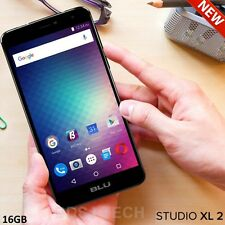BLU Studio XL 2 LTE (16GB) 6.0 HD 4G 13MP Dual SIM Android UNLOCKED S0270U BLACK