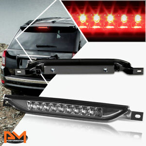 For 11-17 Jeep Grand Cherokee LED Third 3RD Tail Brake Light Stop Lamp Smoked