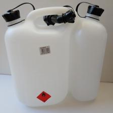 OREGON MOTOSEGA Combi Carburante può Benzina & Olio Trasparente Chiaro Container 562408