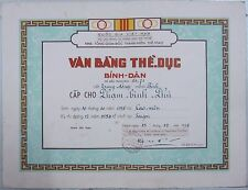 State of Vietnam, Quốc Gia Việt Nam 1954 Certificate