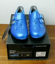 Shimano RC9 S-Phyre Carbon Road Cycling Shoes - EU Size 41.5 - SH-RC901 Blue