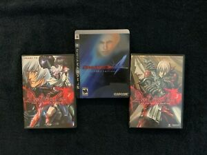 Devil May Cry 4 -- Collector's Edition (Sony PlayStation 3, 2008) + Anime DVDs