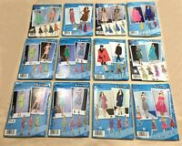 Simplicity Sewing Patterns Lot of 12~Misses Sizes 4-12~UNCUT/FF~Free Ship (#162)