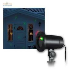 LED Laser Licht Projektor Außen Beleuchtung Gartenlicht Xmas Weihnachten Deko