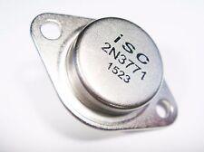 2N3771 Transistor de Energía si Npn 40V 30A 150W Hfe : 60 (TO3) #21-411