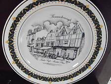 1995 Decor Art Knaresborough UK  TUDOR CAFE MARKET PLACE  Ltd Ed Plate