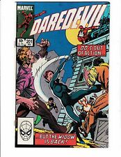 DAREDEVIL #201 (NM-) BLACK WIDOW Cover Story Appearance! John Byrne Cover!