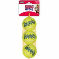 KONG Air Dog Squeaker Fetch Tennis Balls Medium Squeaker 3 balls float