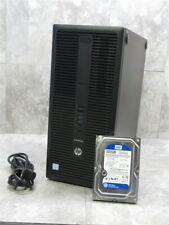 HP 800 G2 ELITEDESK TWR Desktop Tower PC COMPUTER i5-6500 3.2Ghz 8GB RAM 500GB