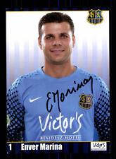 Enver Marina Autogrammkarte 1 FC Saarbrücken Original Signiert+A 163482