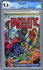 Fantastic Four #150 CGC 9.6 (Sept 1974, Marvel) Wedding of Crystal & Quicksilver