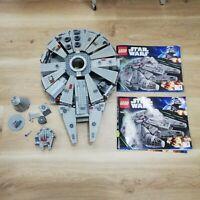 LEGO STAR WARS MILLENNIUM FALCON 7965 - RARE RETIRED, 80% OR BETTER