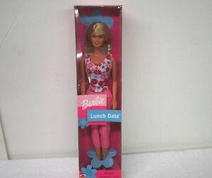 Lunch Date Barbie Doll Mattel Blonde Hair Brand NEW