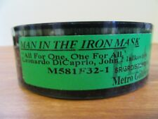 MAN IN THE IRON MASK ORIGINAL 1998 35MM MOVIE TRLR FLAT DICAPRIO MALKOVICH NM