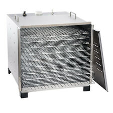 Lem #778A Stainless Steel 10 Tray Dehydrator With Chrome Plated Trays (NEW)