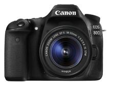 Cámara réflex - Canon EOS 80D, 24.2 MP, DIGIC 6 + EF-S 18-55 mm F3.5-5.6 IS STM