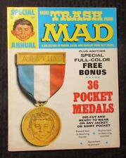 1969 More TRASH From MAD Magazine #12 FN 6.0 w/ 36 Pocket Medals