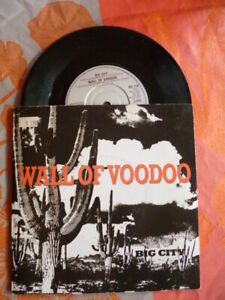 Wall Of Voodoo – Big City sp  I.R.S. Records – IRS 116 UK 1984