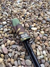 Peak angling products carp fishing elasticated Tip top butt rod protector camo