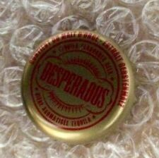 Desperados tequila beer bottle cap bottle top pin badge, new