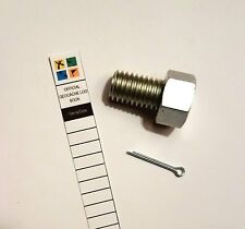 Magnetic Bolt Cache Container for Geocaching comes with a Log Book Free Shipping