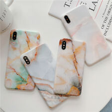 For iPhone 11 Pro XS MAX XR X 7 8 Plus Soft Case Luxury Jade Marble Phone Cover