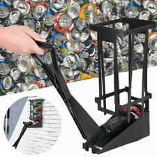 New listing Can-Ram M-92 Aluminum Can Crusher Crushes 10 Cans In 10 Seconds Wall Mount Us.