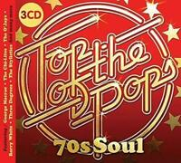TOP OF THE POPS 70s SOUL New & Sealed 3CD set Classic Soul, Motown (Spectrum)