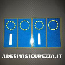 Adesivi Adesivo vinile targa sigla anno auto etichette europa durata illimitata