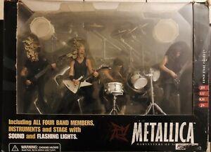 McFarlane Toys Metallica Harvester Of Sorrow box set James Lars Kirk Jason