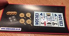 1/43 decals  Ford RS 200 Andervang Bianchi Rally Transkit Resin Parts Included