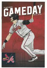 Josh Donaldson Game Day Program Atlanta Braves May 14-16 2019 Sun Trust Park SGA