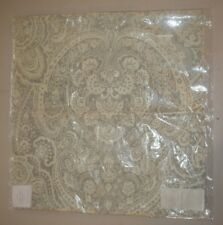 """Pottery Barn Vanessa Paisley Print Made To Order Pillow Cover Gray 20"""" #610"""