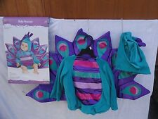 Baby peacock Halloween Costume Infant/Toddler 12-18 Months (Purple)