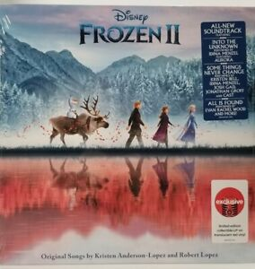 Frozen 2 Original Movie Soundtrack Target Exclusive Red Colored LP Vinyl SEALED!