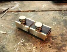 Partielle lap steel/dobro/résonateur encolure carrée/Weissenborn Capo par Woodshed Capos